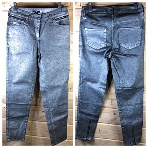 NWT H&M Coated Jeans